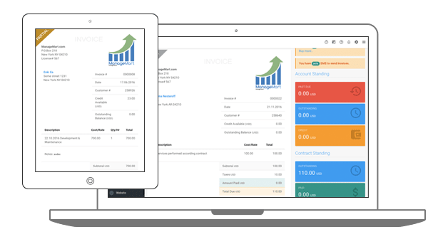 Create invoices automatically