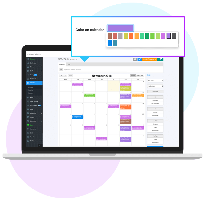 Colorful Your Events and Tasks