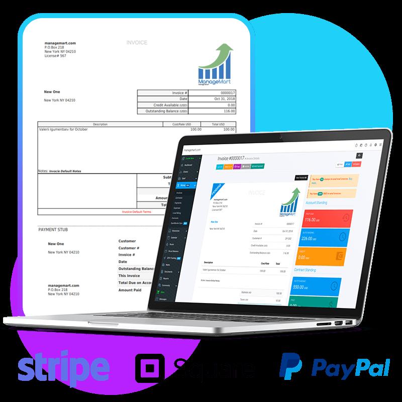 Invoice system